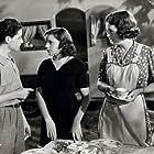 Judy Garland, Mary Astor, and Freddie Bartholomew in Listen, Darling (1938)