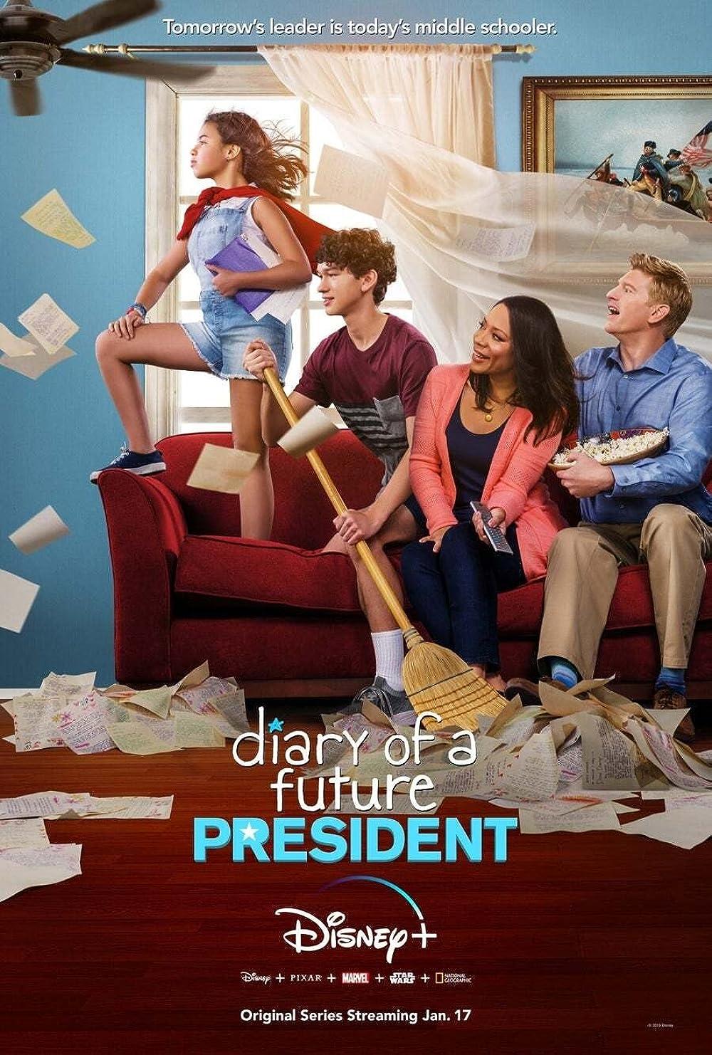 Filmbeschreibung zu Tagebuch einer zukünftigen Präsidentin