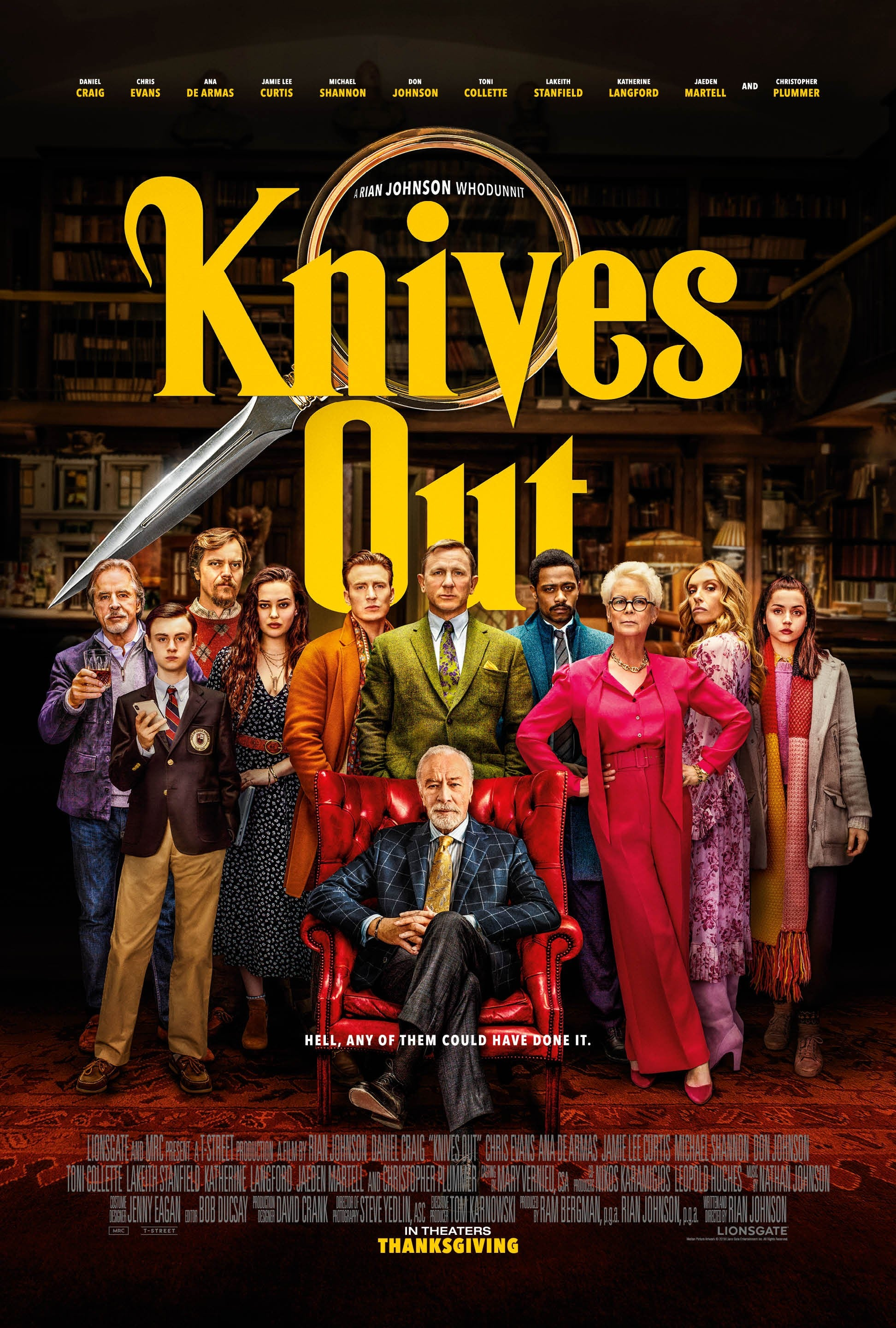 Knives Out (2020) Bengali Dubbed 720p BluRay x264 700MB Download