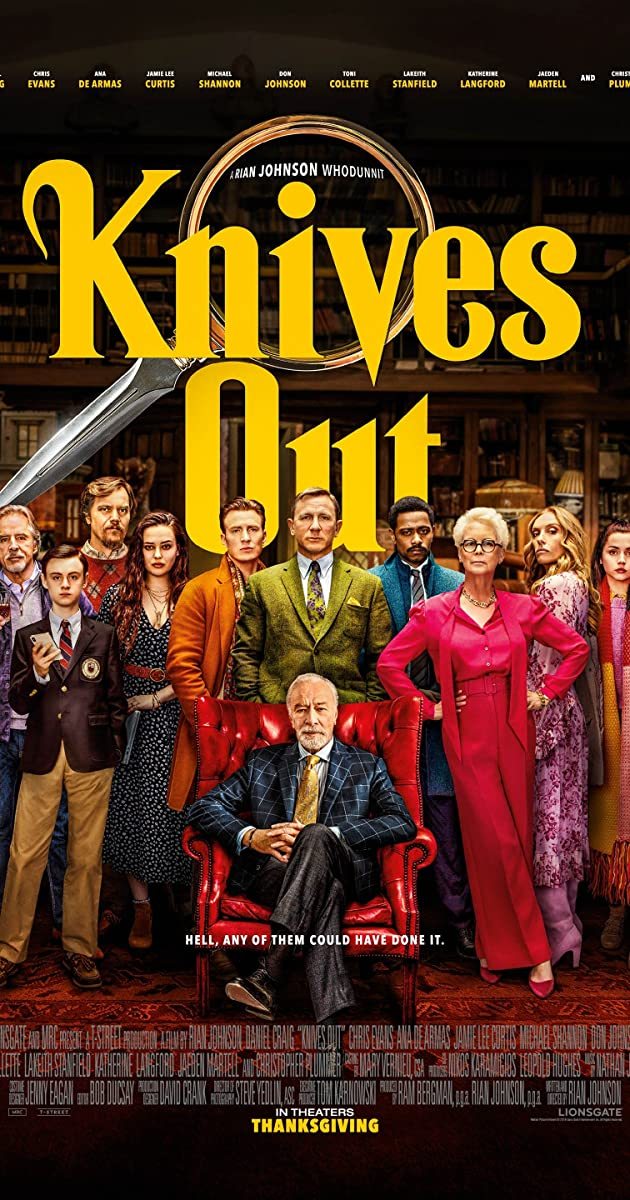 Image result for knives out poster