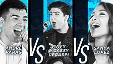 Sanya Lopez vs Andre Paras vs Mavy & Cassy Legaspi