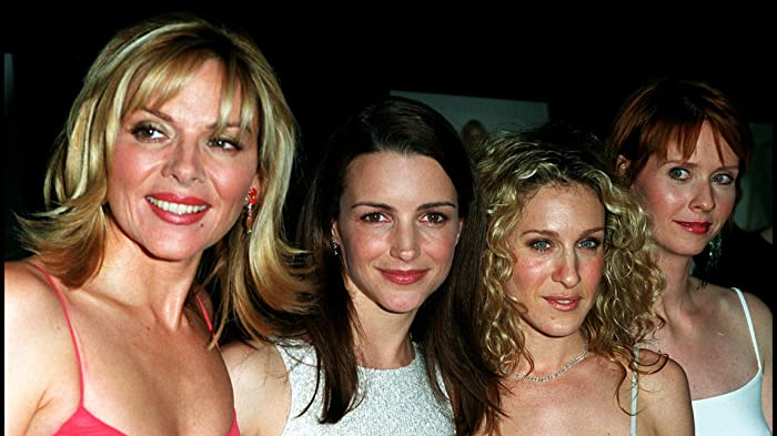 Kim Cattrall, Sarah Jessica Parker, Kristin Davis, and Cynthia Nixon at an event for Sex and the City (2008)