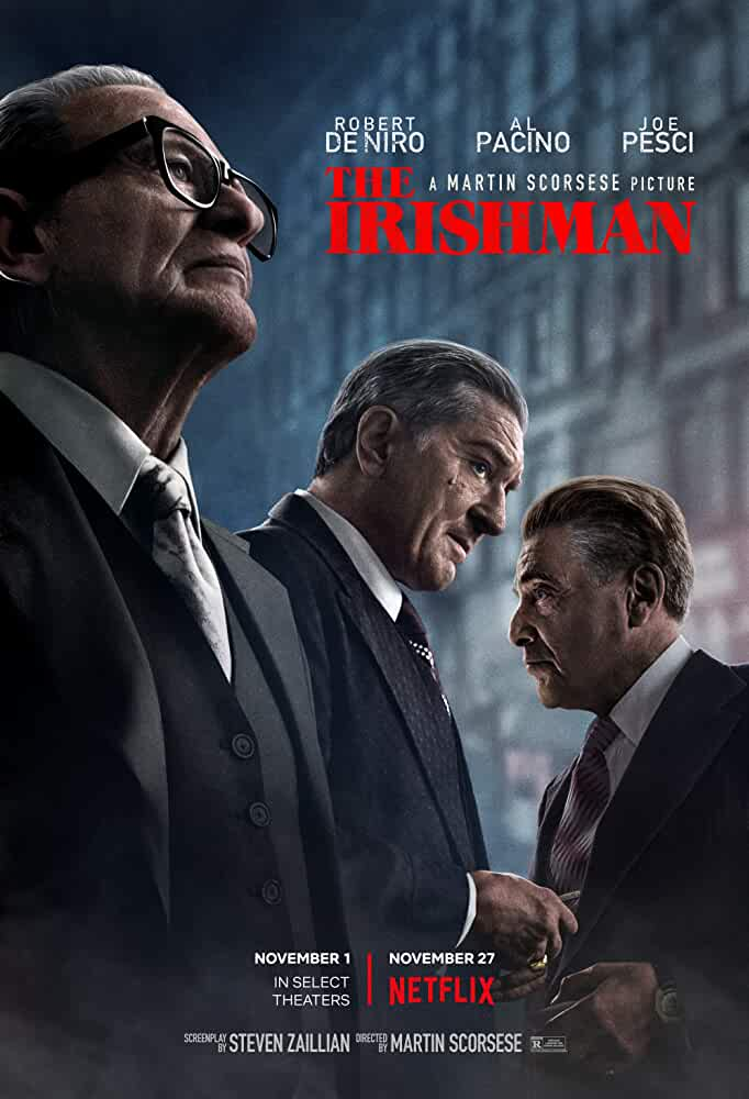 The Irishman (2019) 1080p 720p WEB-DL x264 AAC Dual Audio [Hindi 5.1+English 5.1] Esubs | Full Movie | Download | Watch Online | [G-Drive]