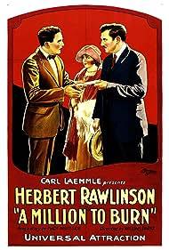 Beatrice Burnham and Herbert Rawlinson in A Million to Burn (1923)