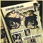 Cesar Romero, Kay Kendall, Victor Maddern, and Simone Silva in Street of Shadows (1953)