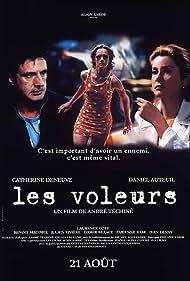 Catherine Deneuve, Daniel Auteuil, and Laurence Côte in Les voleurs (1996)