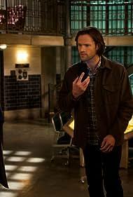 Misha Collins, Jared Padalecki, and Alexander Calvert in Supernatural (2005)