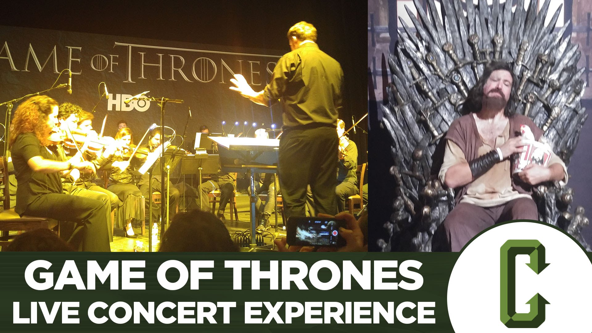 Collider Tv Talk Game Of Thrones Live Concert Experience Preview Tv Episode 2016 Imdb