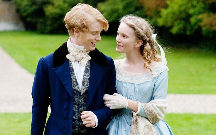 Tamzin Merchant and Freddie Fox in The Mystery of Edwin Drood (2012)