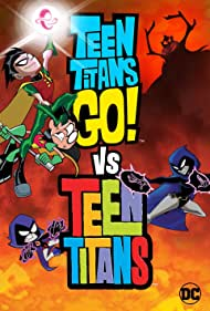 Tara Strong, Scott Menville, and Kevin Michael Richardson in Teen Titans Go! Vs. Teen Titans (2019)