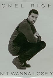 Lionel Richie: Don't Wanna Lose You, First Version Poster
