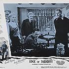 Errol Flynn, John Beal, Walter Huston, and Ann Sheridan in Edge of Darkness (1943)