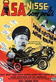 Åsa-Nisse som polis Poster
