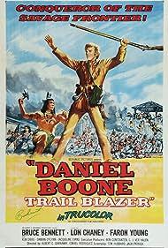 Bruce Bennett in Daniel Boone, Trail Blazer (1956)