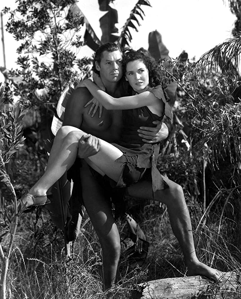 Maureen OSullivan and Johnny Weissmuller in Tarzan Escapes 1936