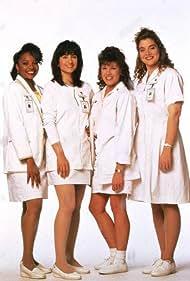 Stephanie Hodge, Mary Jo Keenen, Ada Maris, and Arnetia Walker in Nurses (1991)