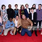 The cast and crew of 'King Jack' attend the premiere of 'King Jack' during the 2015 Tribeca Film Festival at Regal Battery Park 11 on April 17, 2015 in New York City.