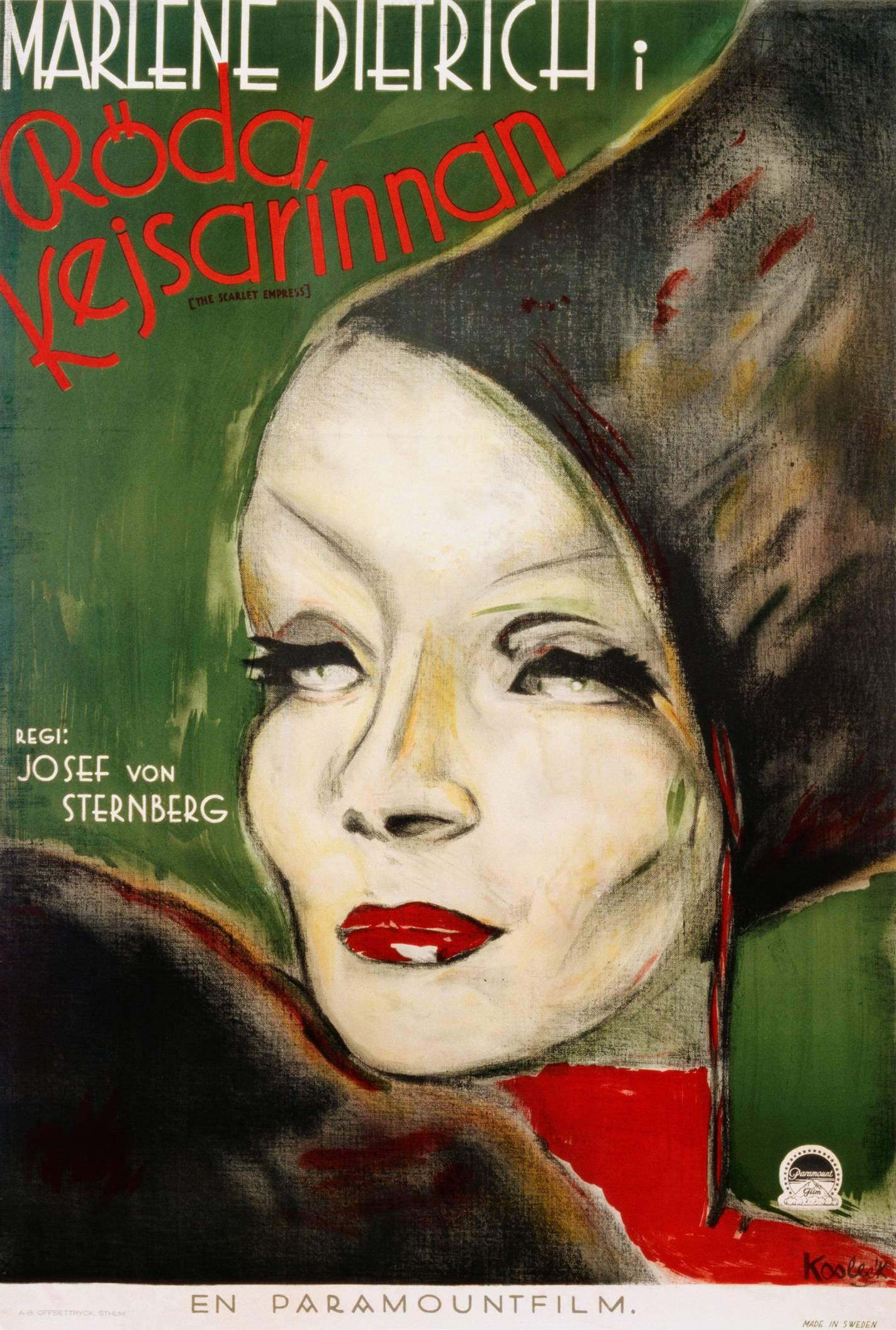 Marlene Dietrich in The Scarlet Empress (1934)