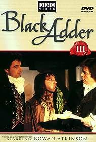 Rowan Atkinson, Vincent Hanna, and Tony Robinson in Blackadder the Third (1987)