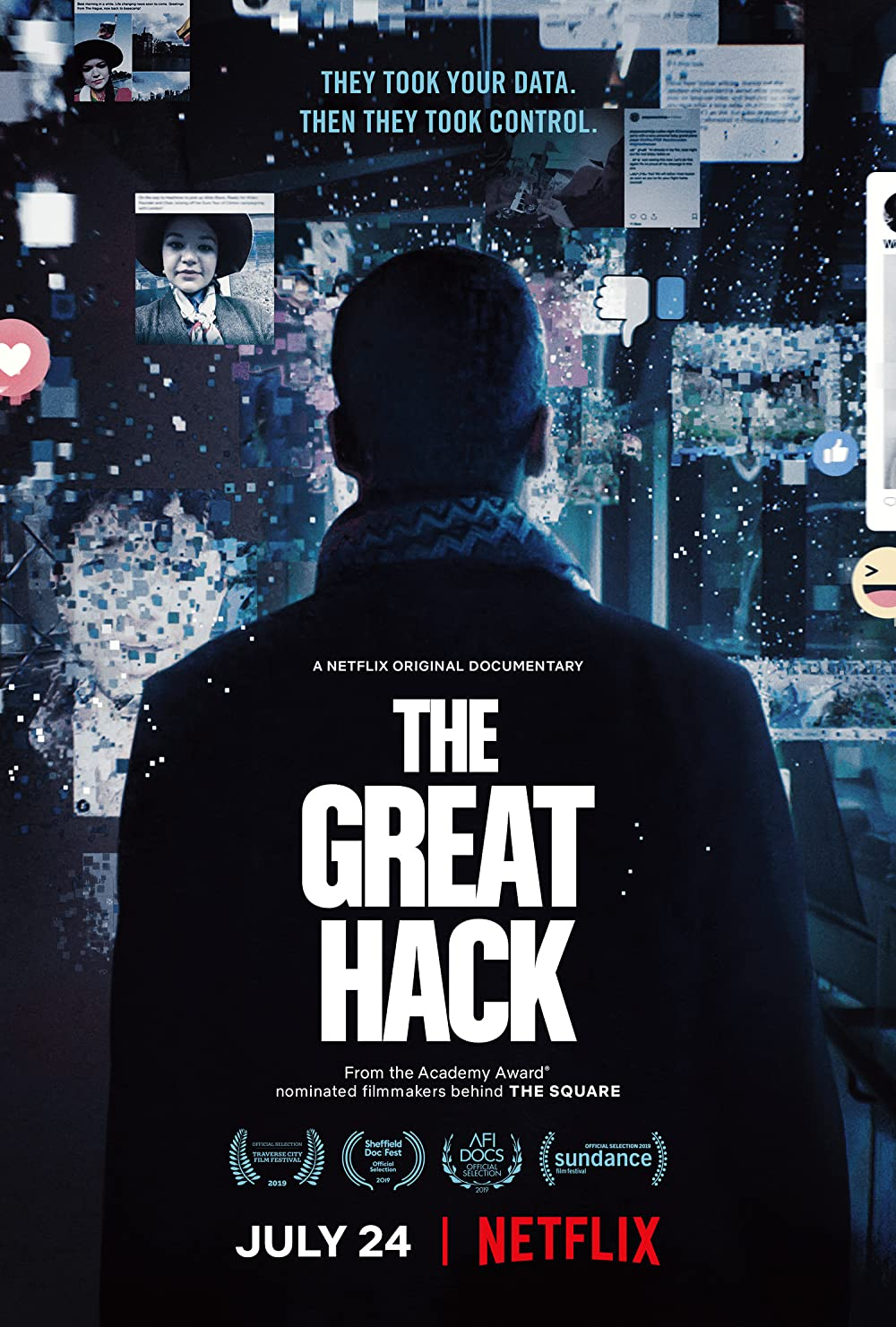 Cambridge Analyticas großer Hack: Directed by Karim Amer, Jehane Noujaim. With Brittany Kaiser, David Carroll, Paul-Olivier Dehaye, Ravi Naik. The Cambridge Analytica scandal is examined through the roles of several affected persons.
