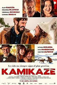 Héctor Alterio, Eduardo Blanco, Álex García, Carmen Machi, Leticia Dolera, Ivan Massagué, and Verónica Echegui in Kamikaze (2014)
