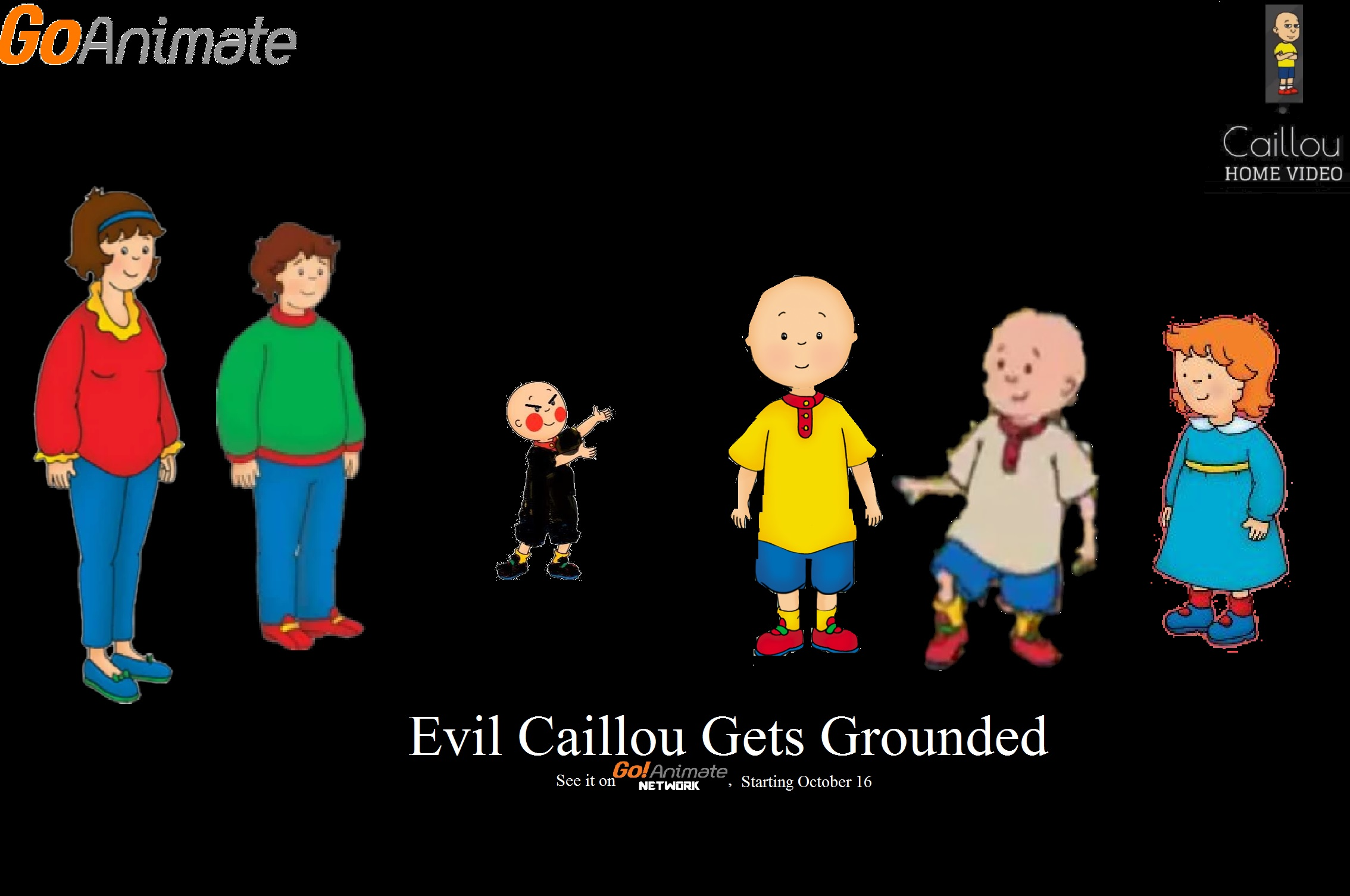 Image of: Tom Fanpop Evil Caillou Gets Grounded tv Series 2017 Imdb