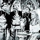 Karel Effa, Milos Kopecký, Alena Vránová, and Oldrich Dedek in Pysná princezna (1952)
