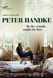 Peter Handke: Bin im Wald. Kann sein, dass ich mich verspäte... Poster