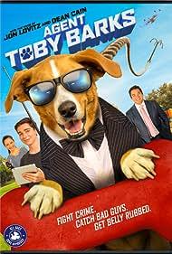 Dean Cain and Jon Lovitz in Agent Toby Barks (2020)