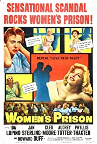 Jan Sterling, Ida Lupino, and Cleo Moore in Women's Prison (1955)