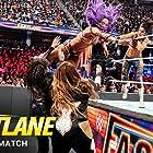 Pamela Martinez, Sarona Snuka, Sasha Banks, and Savelina Fanene in WWE Fastlane (2019)