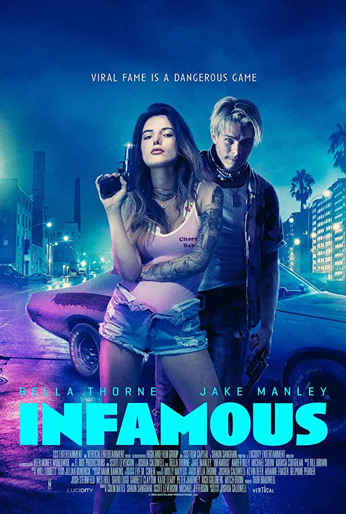 Infamous 2020 English 720p HEVC HDRip Full Hollywood Movie x265 AAC ESubs [450MB]