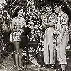 Charlita, Al Kikume, Duke Mitchell, Milton Newberger, and Sammy Petrillo in Bela Lugosi Meets a Brooklyn Gorilla (1952)
