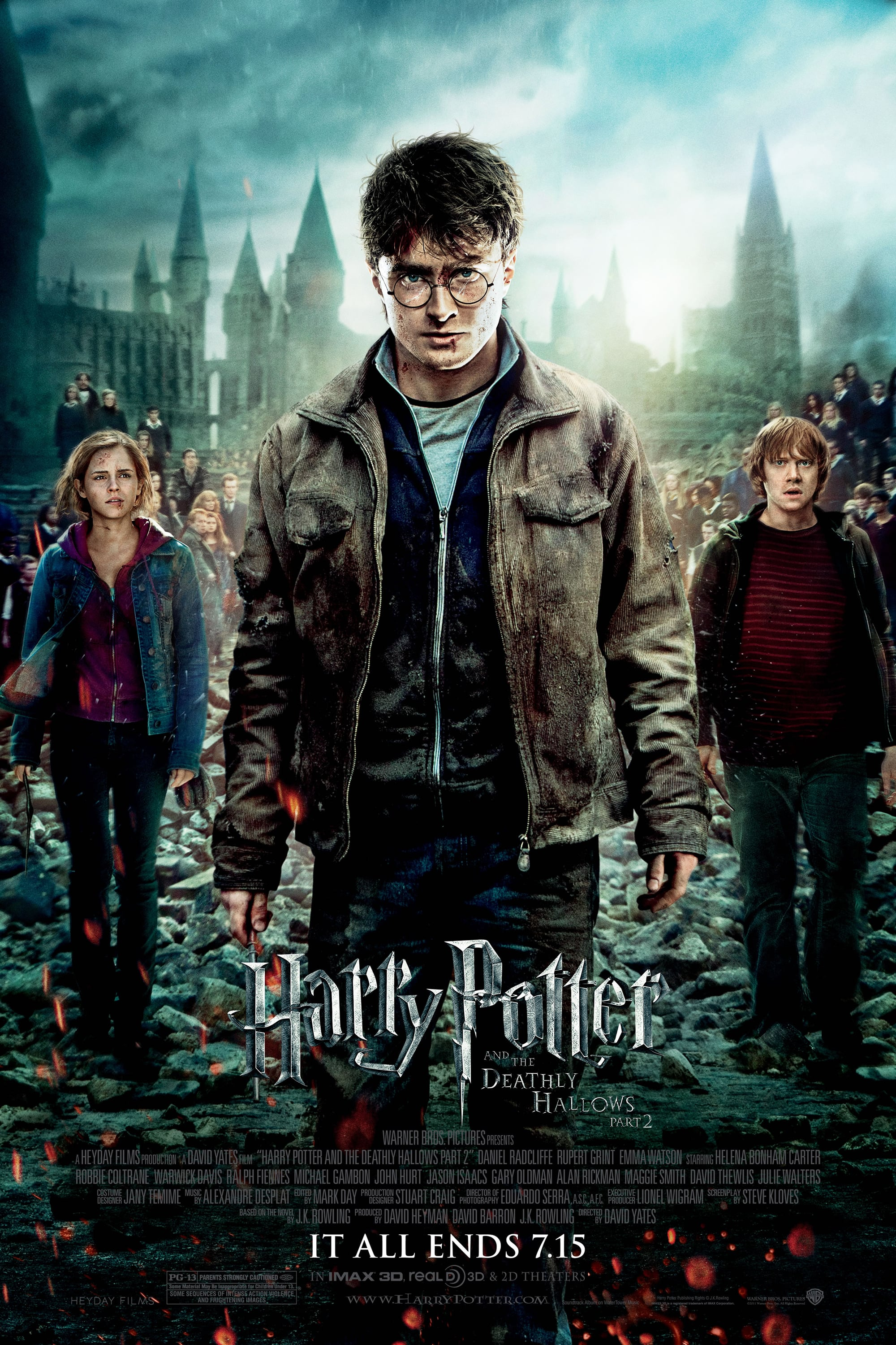 harry potter and the deathly hallows part 2 2011 imdb harry potter and the deathly hallows