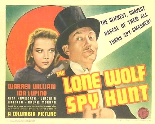 Ida Lupino and Warren William in The Lone Wolf Spy Hunt (1939)
