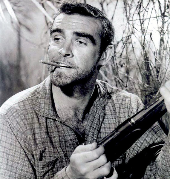 Sean Connery in Tarzan's Greatest Adventure (1959)