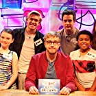Bobby Lockwood, Matthew Crosby, Grace Mandeville, Iain Stirling, and Tom Craine in The Dog Ate My Homework (2014)