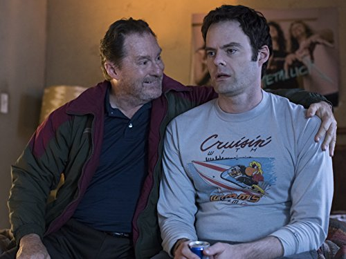 Bill Hader and Stephen Root en Barry (2018)