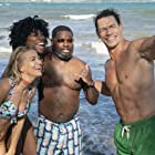 John Cena, Lil Rel Howery, Meredith Hagner, and Yvonne Orji in Vacation Friends (2021)
