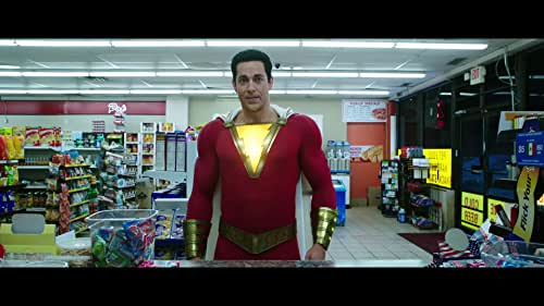 We all have a superhero inside us, it just takes a bit of magic to bring it out. In Billy Batson's case, by shouting out one word - SHAZAM! - this streetwise 14-year-old foster kid can turn into the adult superhero Shazam.