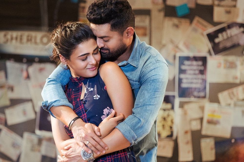 Nandamuri Kalyan Ram and Shalini Pandey in 118 (2019)