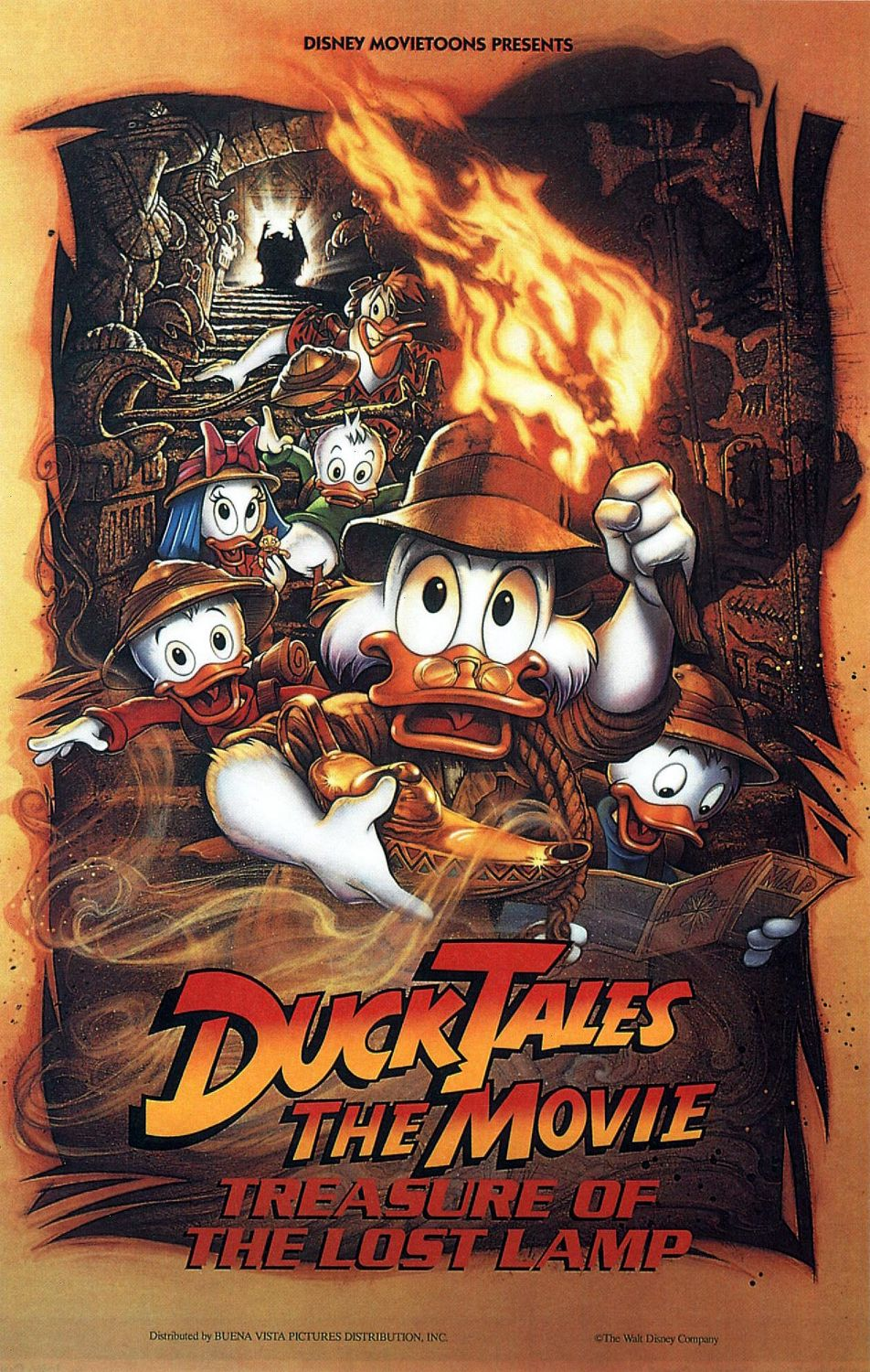 Ducktales The Movie Treasure Of The Lost Lamp 1990 Imdb