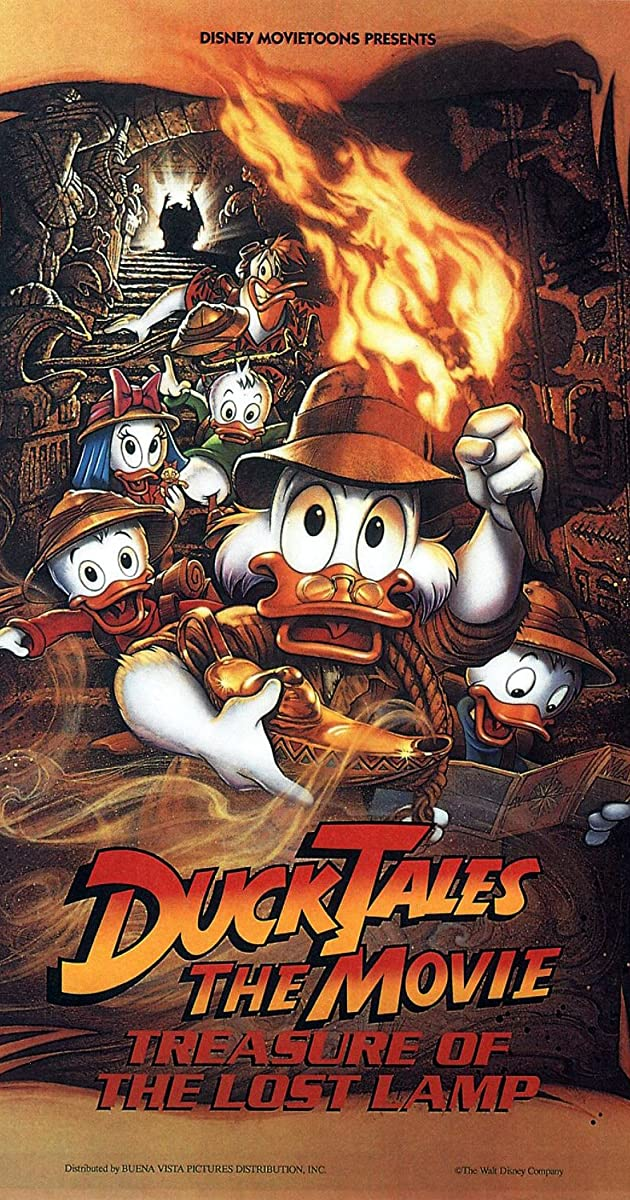 Subtitle of DuckTales the Movie: Treasure of the Lost Lamp