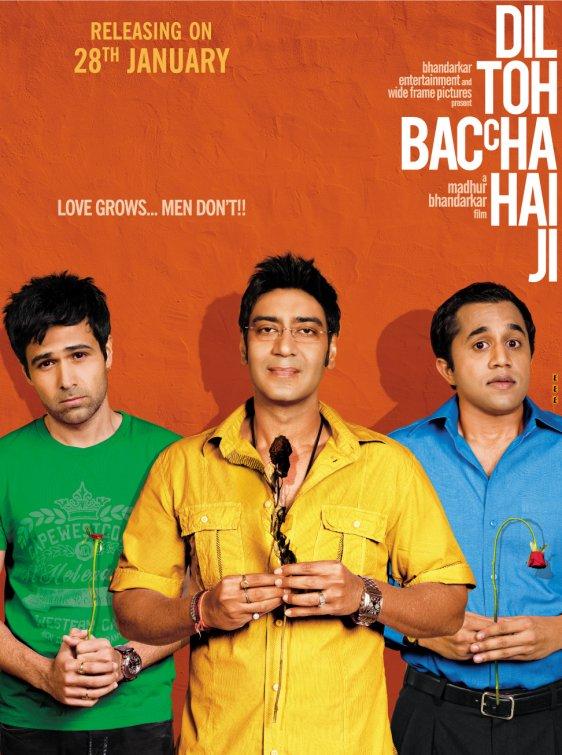 Dil Toh Baccha Hai Ji (2011) Hindi 720p HEVC