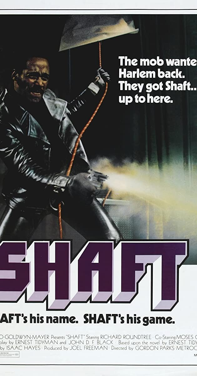 SHAFT ISAAC HAYES MOVIE POSTER NEW  !