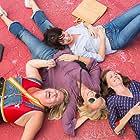 Toni Collette, Molly Shannon, Katie Aselton, and Bridget Everett in Fun Mom Dinner (2017)