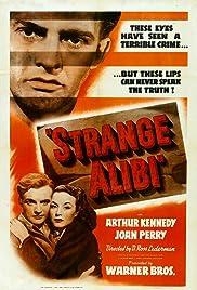Strange Alibi Poster