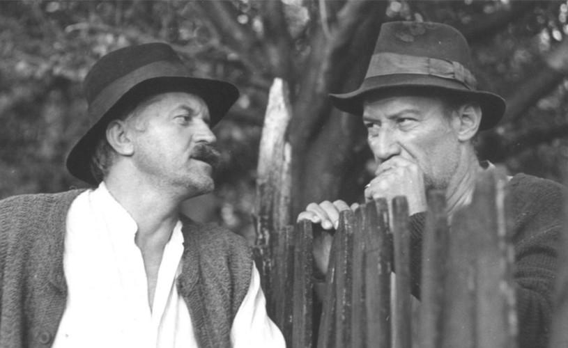 Victor Rebengiuc and Dorel Visan in Morometii (1987)