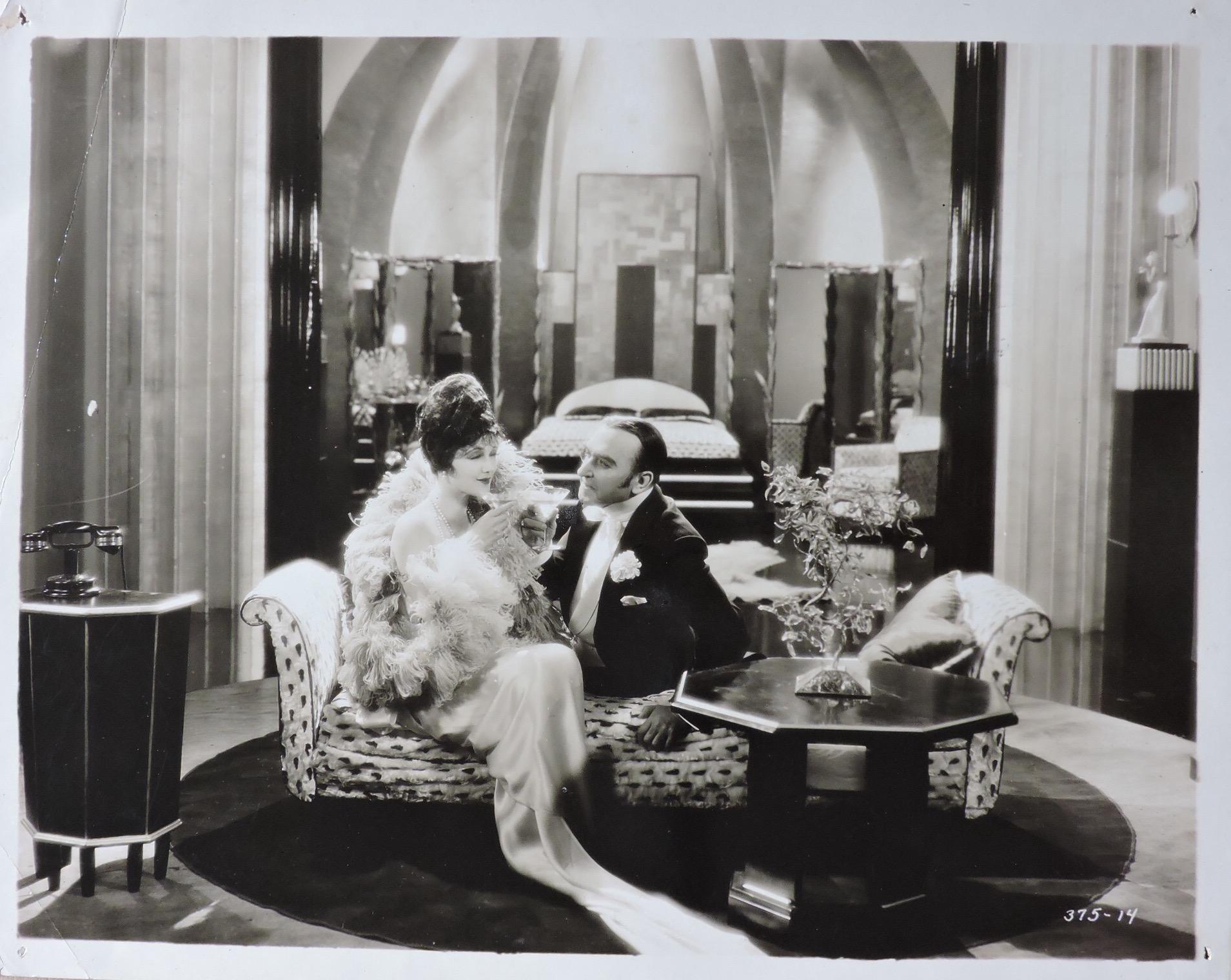 Jetta Goudal and Andrés de Segurola in The Cardboard Lover (1928)