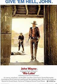 John Wayne and Jack Elam in Rio Lobo (1970)